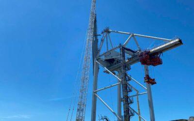 Démantèlement industriel – Port du Havre