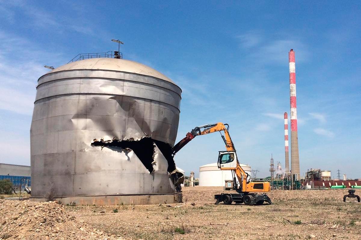 démantèlement industriel marseille